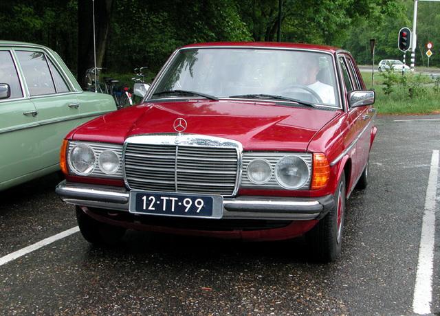 De prachtige oogjes van de W123