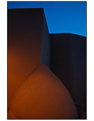 St Francis de Assisi buttress in the blue hour