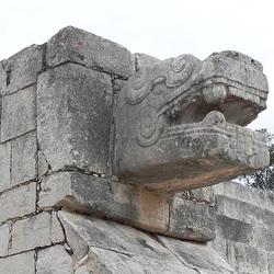 2010.12: MX: Chichen Itza Stone Carving