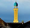 Jamia Sultania Mosque at sunrise.