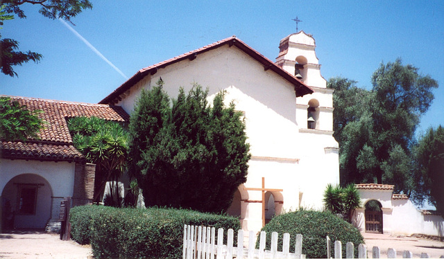 Mission San Juan Bautista, California 2000