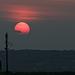Sunset over Portsdown Hill