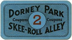 Dorney Park Skee-Roll Alley Ticket