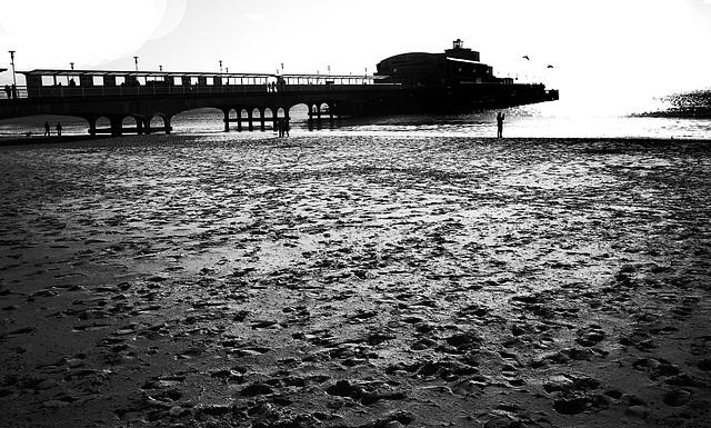Bournemouth Pier B&W 2