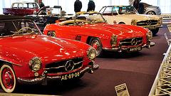Interclassics & Topmobiel 2011 – Mercedes Benz: 1960 190SL – 1958 300SL – 1967 250SL