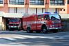 Fire engines of Fondo, Italy