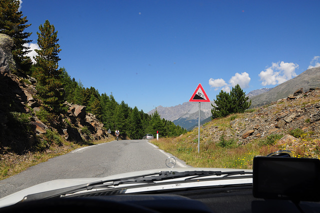 Down the Gavia Pass
