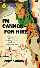 Curt Cannon: I'm Cannon - For Hire