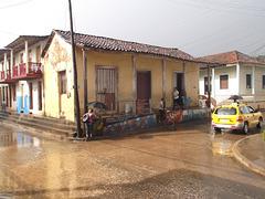 Morning rain / Pluie matinale.