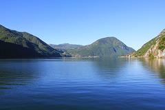 Blick über den Luganer See