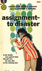 Edward S. Aarons - Assignment to Disaster (2nd printing)