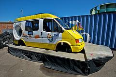 Ice cream van hovercraft
