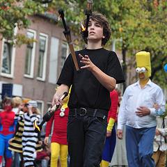 Leidens Ontzet 2011 – Parade – Youth circus Atleta