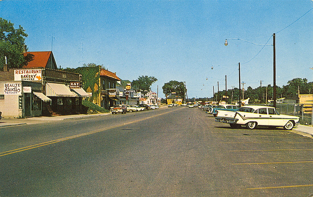 Twin Lakes Wisconsin Postcard Ipernity Vintage Misc City View Motel Etc Postcards By Arts
