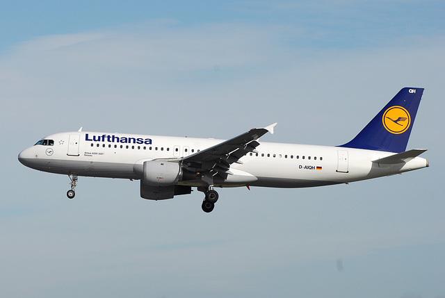 D-AIQH A320-211 Lufthansa