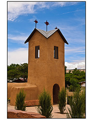 Santo Nino Chapel Belfry - New Mexico