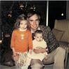 Elise, Rick and Lauren, Christmas, 1978