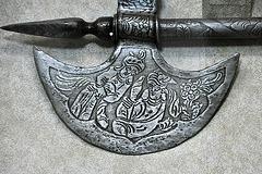 Dubai 2012 – Al Ain National Museum – Decorated axe