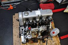 Rebuilding a Mercedes OM616 engine – Almost finished