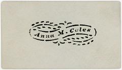 Anna M. Coles