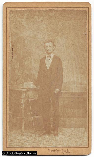 Portrait of Endes Kálmán, by Tauffer Gyula (Kolozsvár)