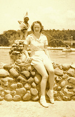Nonie, early 1940s