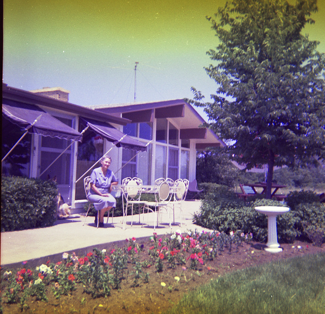 Grands on the Patio,1963