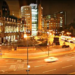 City scape, Leeds
