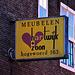 Sign on the Hogewoerd in Leiden