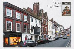 Lewes  - 14 - 24 High Street - 19.2.2014