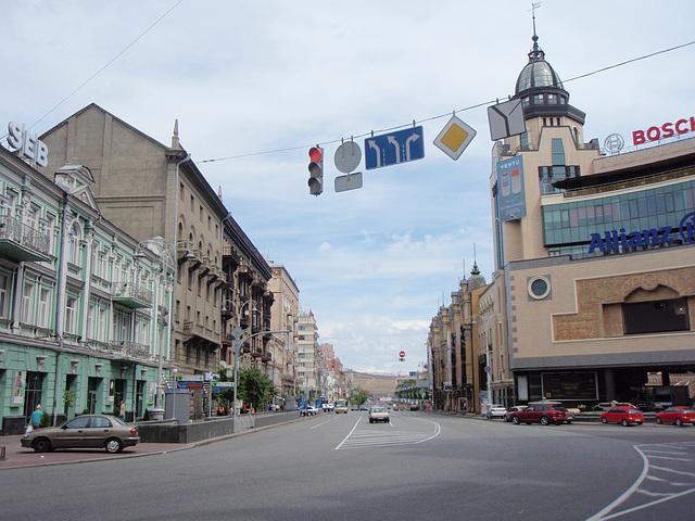 Kiew -- Krestschatik