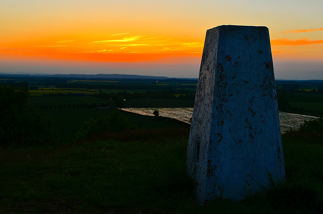 Lilleshall trig point