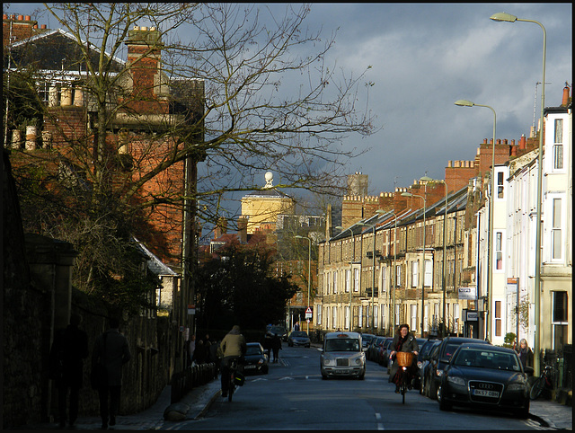 the winds over Walton Street