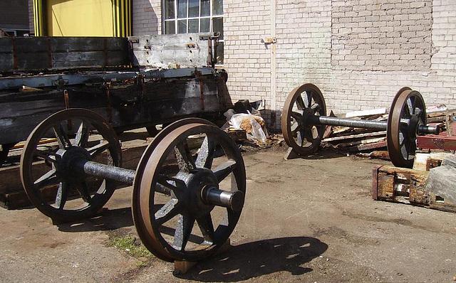 BR DB - wheels left
