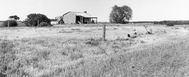 Derelict farmhouse, near Sedan