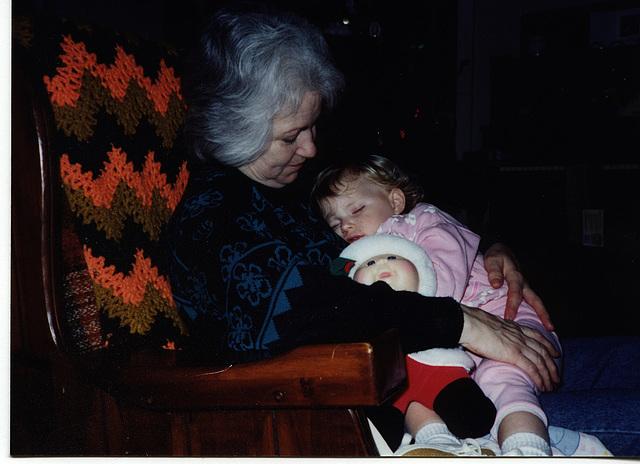 Nanny and Kristin