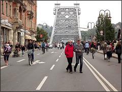 Dresden 04.06.2013, Loschwitzer Brücke 034