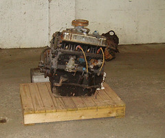CSB - engine as arrived