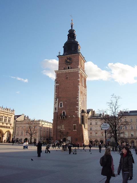Kraków — Rathausturm