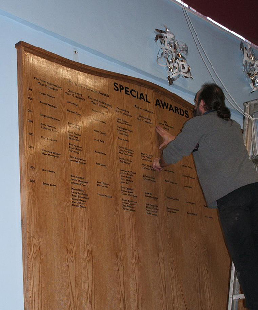 SWP - honours boards