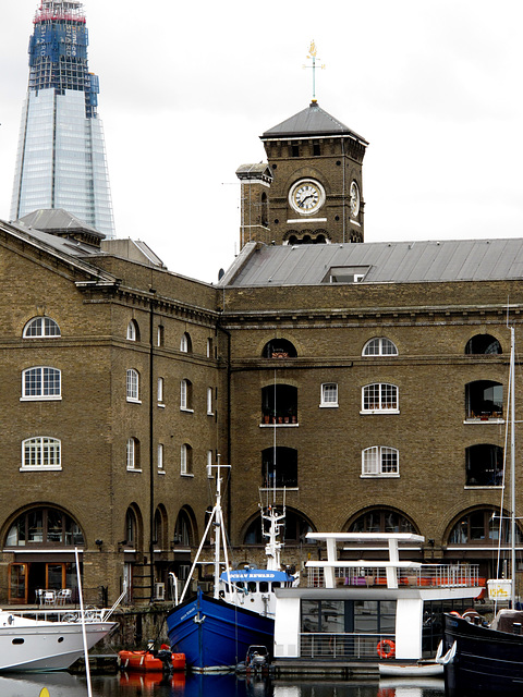 St Katharine Docks & the Shard