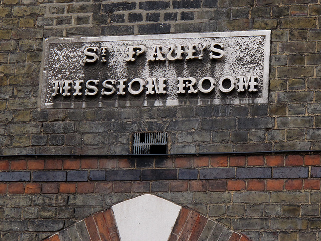 St Paul's Mission Room