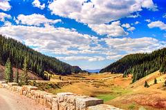 Rocky Mountains NP - Trail Ridge Road, Sept. 15th, 1990 (225°)