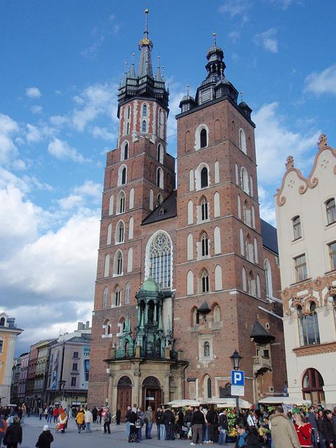Kraków — Kościół Mariacki