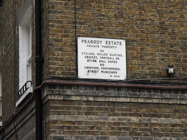 Peabody Estate Whitechapel