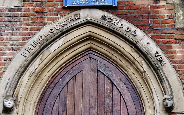philological school, marylebone road, london