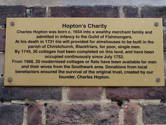 Hopton's Charity