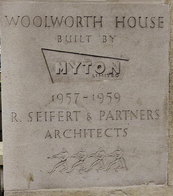 woolworth house, marylebone road, london