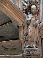 Wooden Bishop