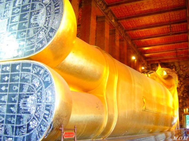 L'envers ou le dos du Wat Pho